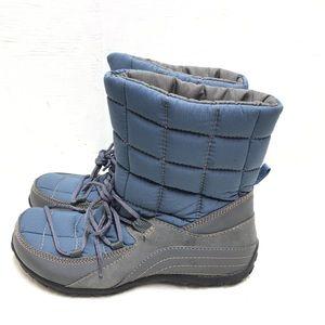 Naturalizer Blue Snow Boots Size 7.5